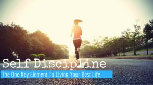 self discipline running
