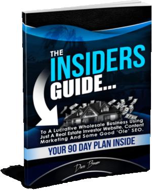 insiders guide real estate wholesaling